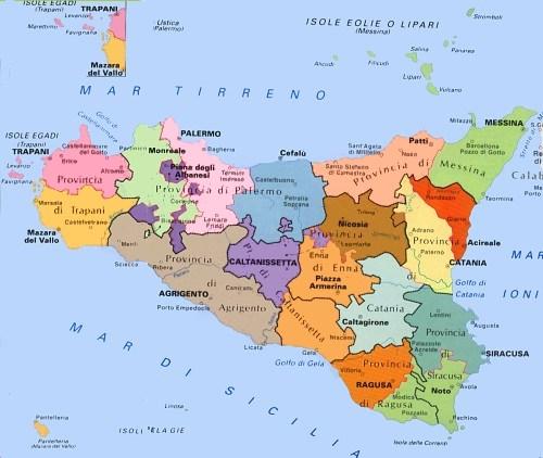 Cartina Politica Della Sicilia.Sitr Sistema Informativo Territoriale Regionale Servizi